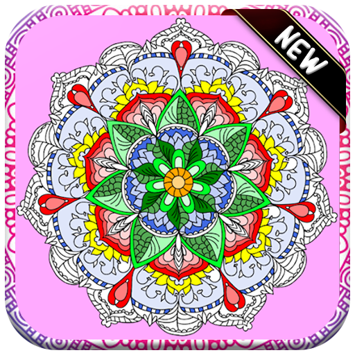 Amazon Com Mandala Flowers Coloring Book Adult And Kids Coloring Pages 2019 Free Appstore For Android