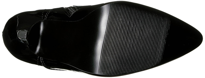 Devious Damen (Lack Domina-2020 Kurzschaft Stiefel Noir (Lack Damen Schwarz) 70287c