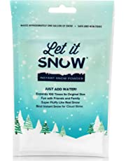 Let it Snow Instant Snow for Slime - Best Fake Snow for Cloud Slime - Made in The USA