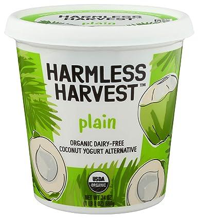 Harmless Harvest, Yogurt Coconut Plain Organic, 24 Ounce