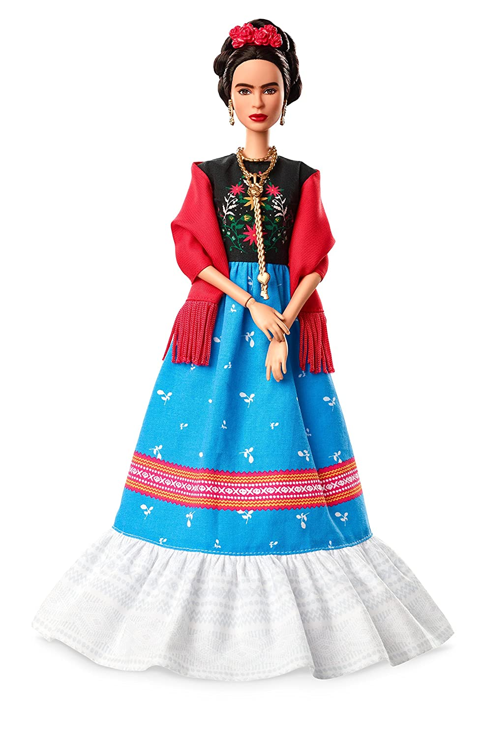 Barbie Inspiring Women Frida Kahlo Doll Mattel FJH65