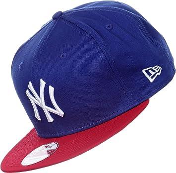 fce89de995e New Era Men s MLB Cotton Block NY Yankees 9Fifty Snapback Baseball ...