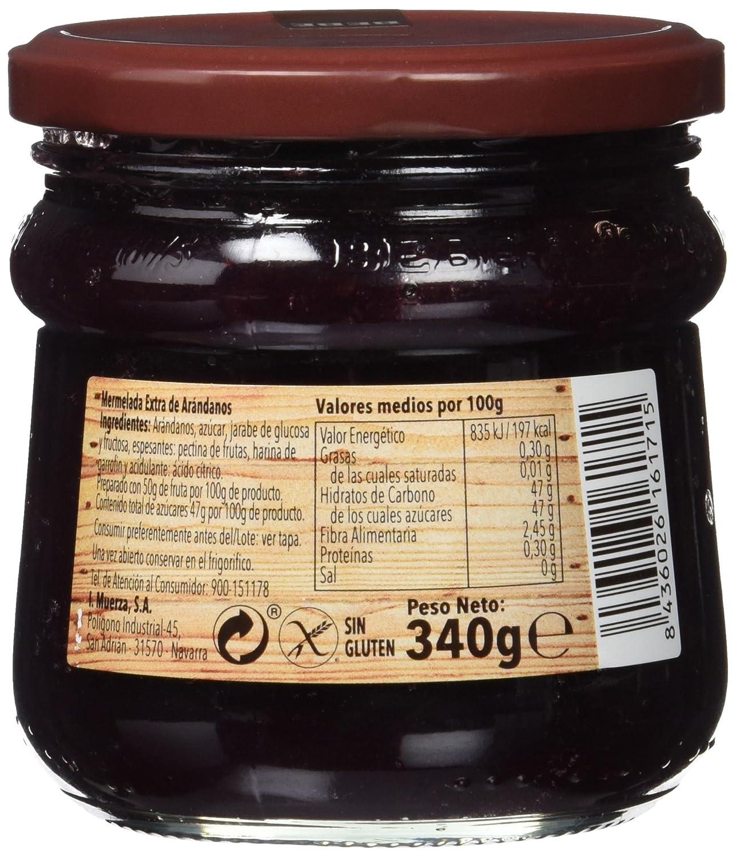 Bebe - Mermelada extra de arándanos - 340 g: Amazon.es: Alimentación y bebidas