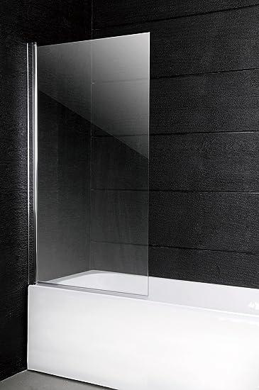 150 X 100 Cm Duschwand Badewanne Faltwand Badewannenaufsatz Duschglaswand Glaswand Duschabtrennung Glas 6 Mm Sicherheitsglas Amazon De Baumarkt