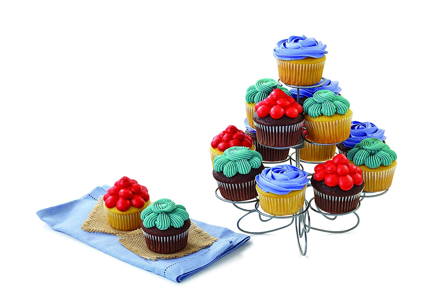 Metal Dessert Stand Wilton Cupcakes N More Small Cupcake Stand
