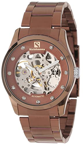 Steinhausen Men s TW8372C Brahms Automatic Skeleton Watch
