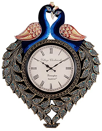 Buy RoyalsCart Peacock Analog Wall Clock Online at Low Prices in