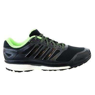 47df19589 adidas Supernova Glide 6 Boost ATR Running Sneaker Shoe - Black Black neon  Green - Mens - 12  Amazon.co.uk  Shoes   Bags