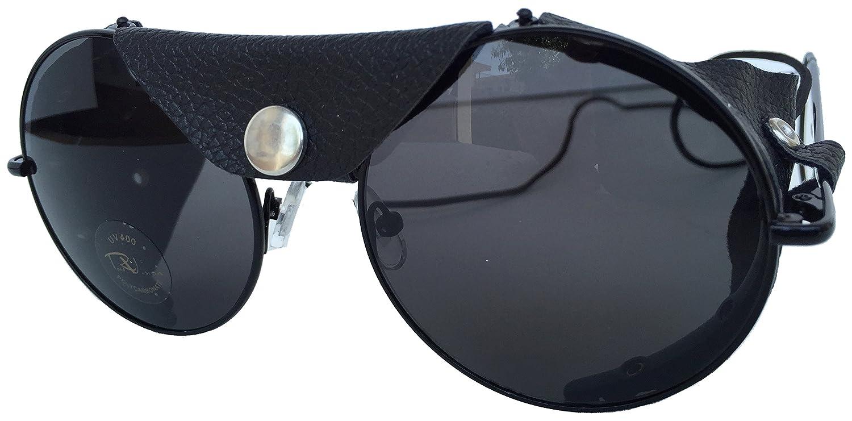 Amazon.com: Hoja de visión Ronda lente motocicleta anteojos ...