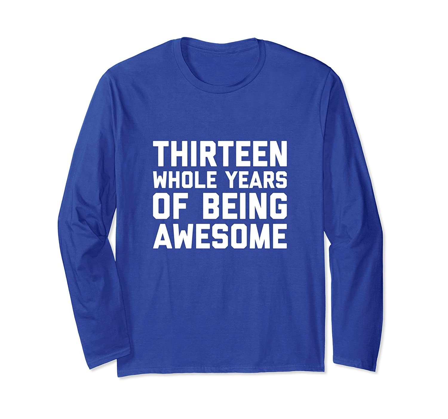 13th Birthday Shirt Gift Age 13 Thirteen Year Old Boy Girl TH