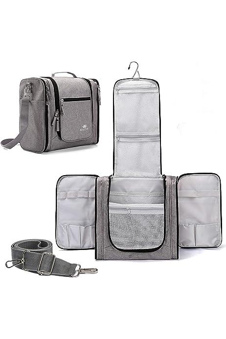 Waterproof Large Travel Wash Bag Hanging Mens Toiletry Organizer Shaving Case