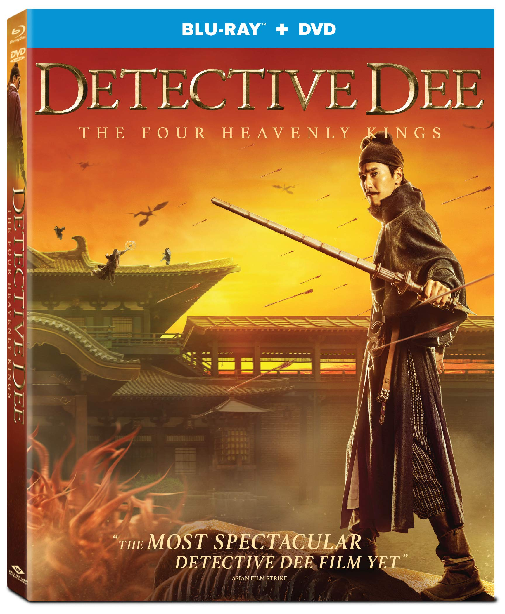 Blu-ray : Detective Dee: The Four Heavenly Kings (2 Pack)