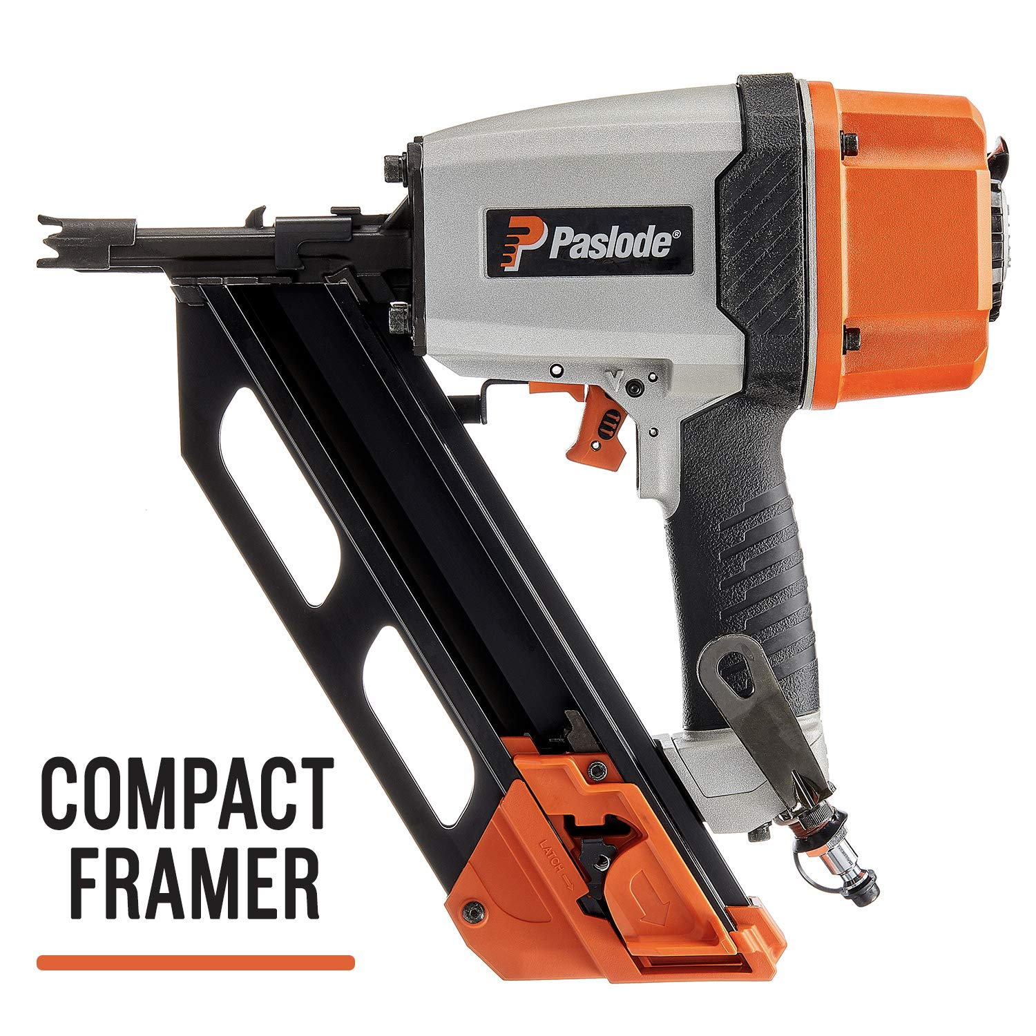 Paslode – 513000 Compact Pneumatic Cordless Framing Nailer F325R – Air Compressor Powered