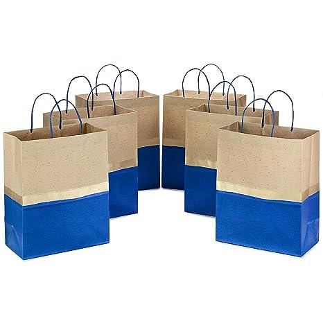 Amazon.com: Hallmark 5EGB6098 - Lote de 8 bolsas de regalo ...
