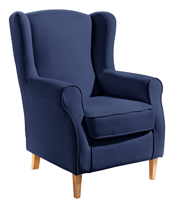 ohrensessel blau simple jpg with ohrensessel blau latest ohrensessel blau sessel relaxsessel. Black Bedroom Furniture Sets. Home Design Ideas