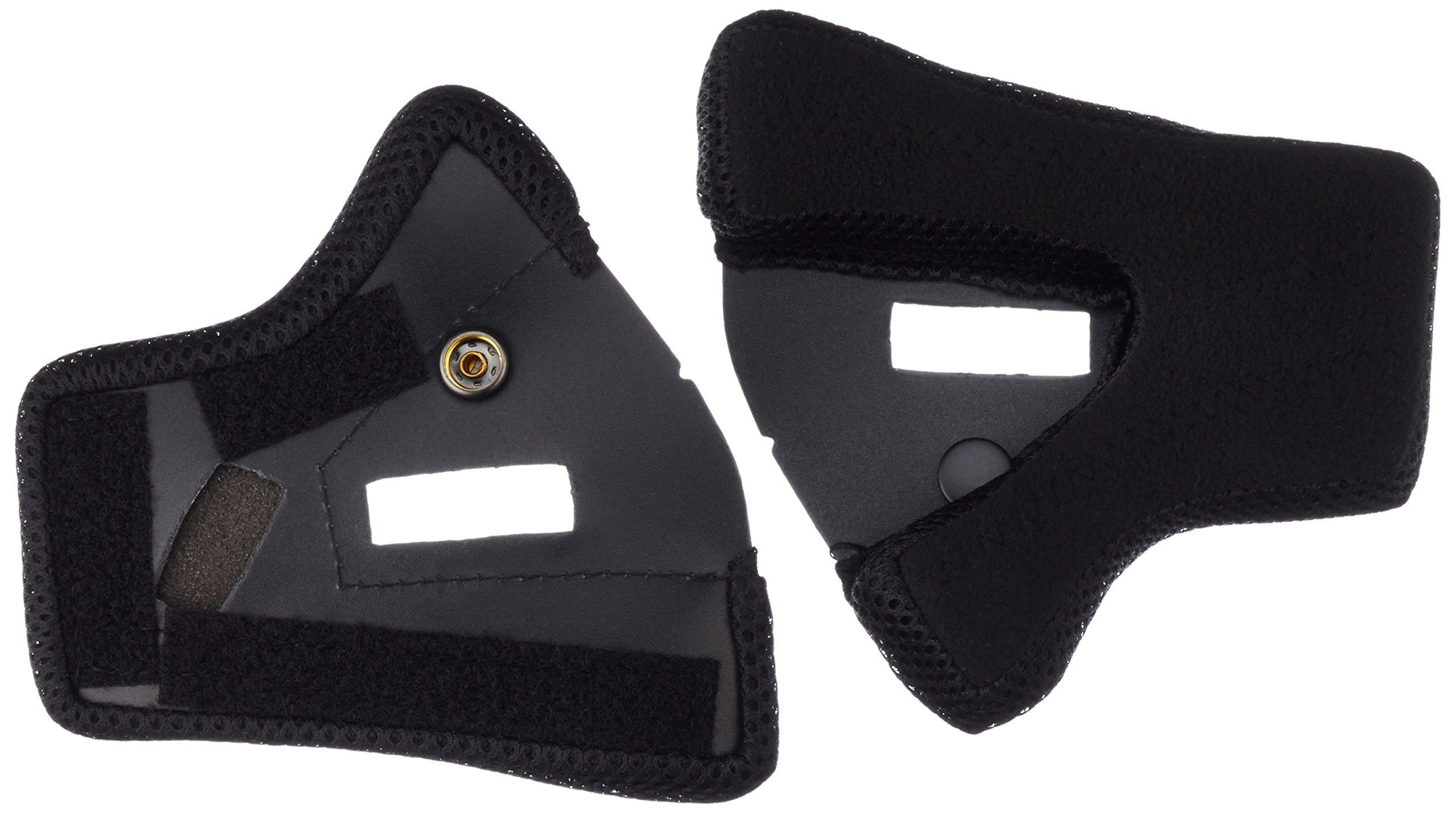 Fox Rampage Cheek Pads [Black] Xl Black Xlarge 03283-001-XL