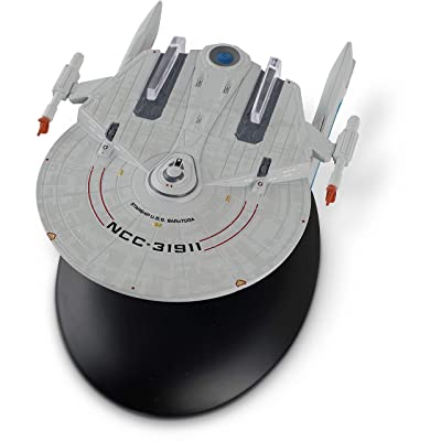 Eaglemoss Hero Collector Star Trek The Official Starship Collection | U.S.S. Saratoga NCC-31911: Toys & Games