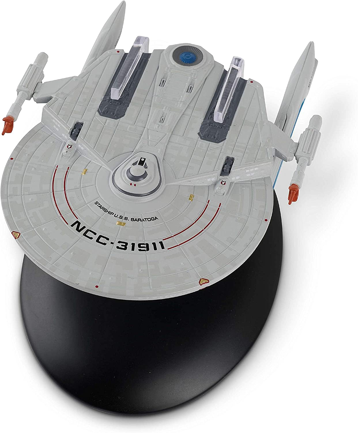 Eaglemoss Hero Collector Star Trek The Official Starship Collection | U.S.S. Saratoga NCC-31911