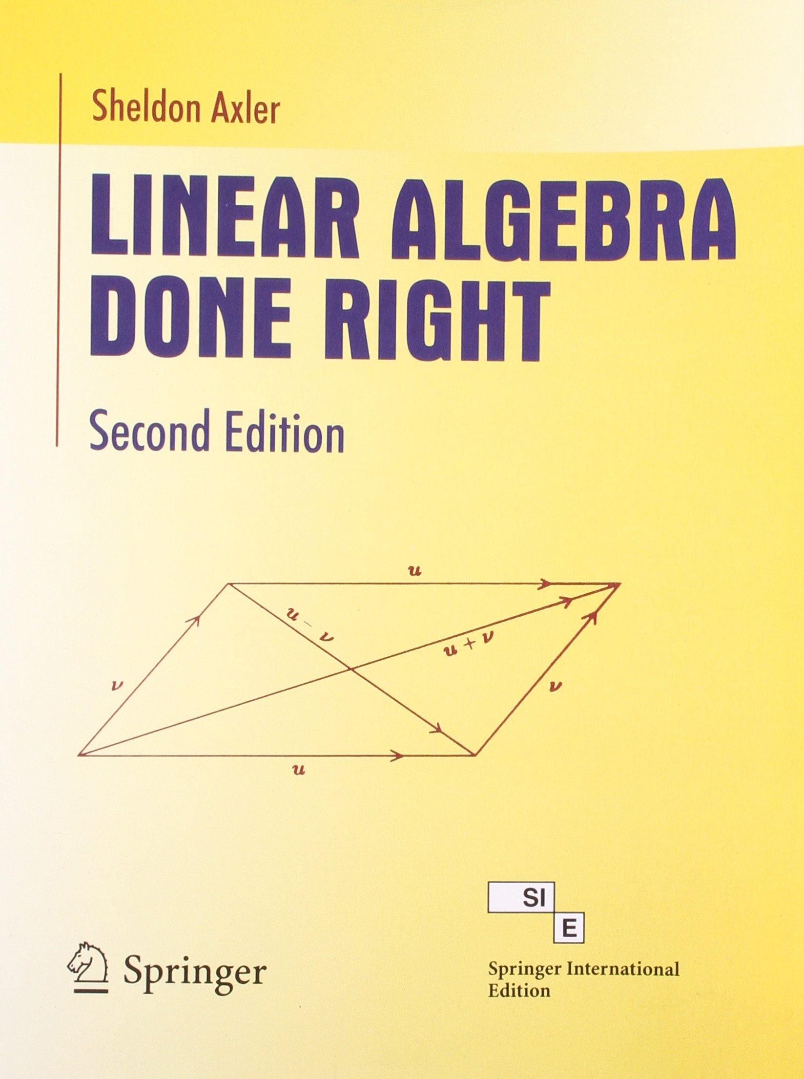 Buy Linear Algebra Done Right Book Online at Low Prices in India | Linear  Algebra Done Right Reviews & Ratings - Amazon.in