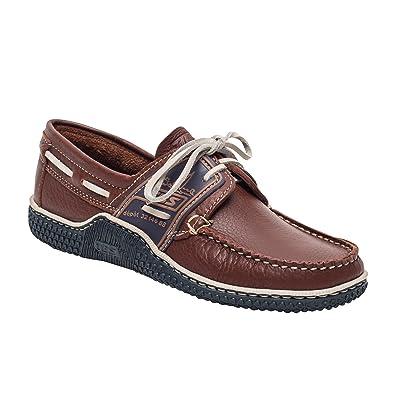 Globek, Chaussures Bateau Homme, Marron (Datte/Encre), 46 EUTBS