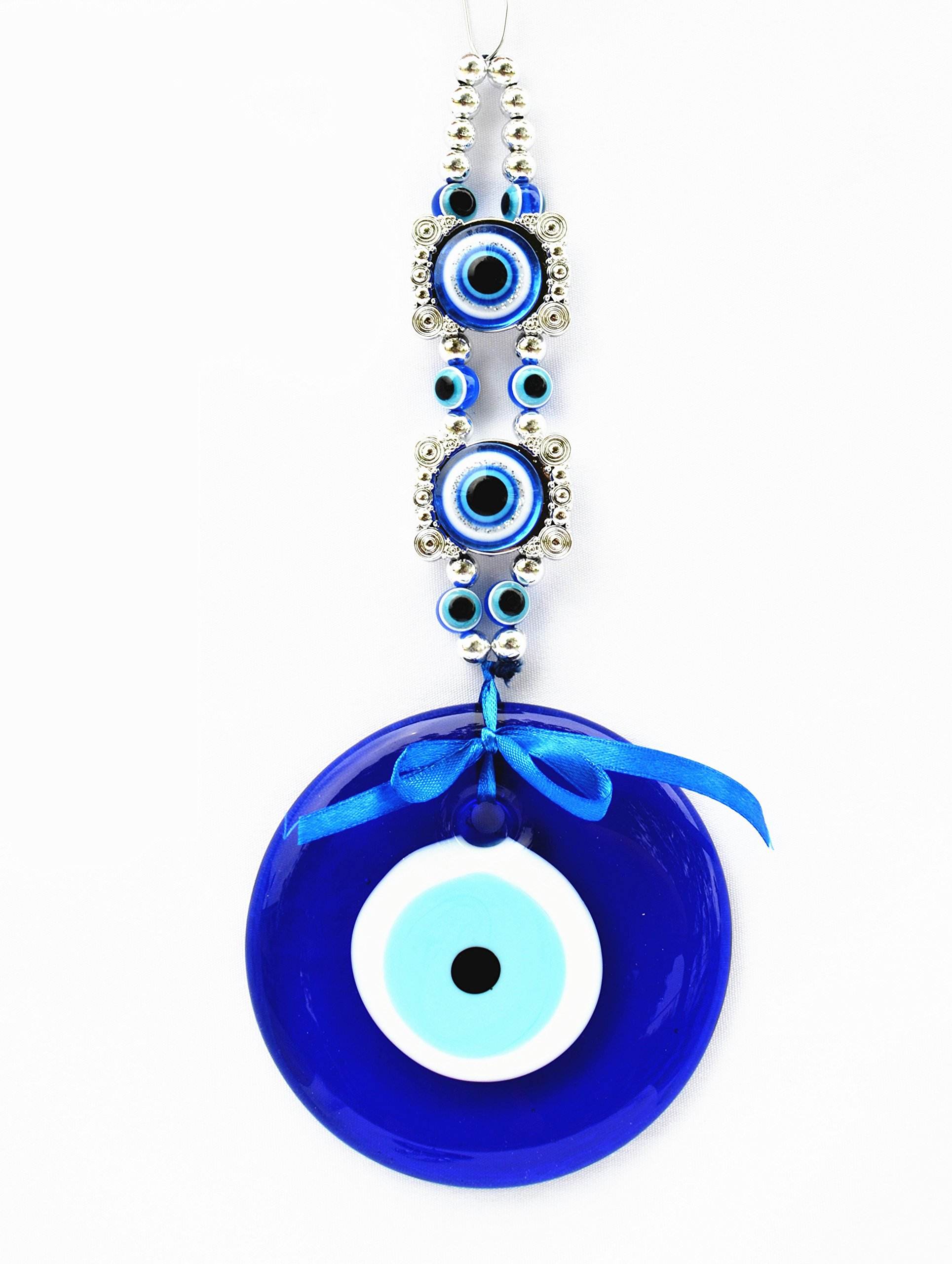 Blue Evil Eye Hanging for Protection (With a Betterdecor Bag)-058