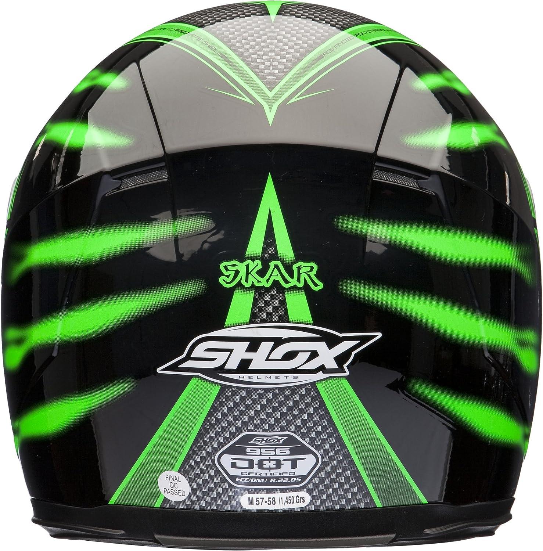 Shox Sniper Skar Casque Moto Int/égral