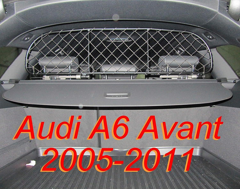Ergotech Trennnetz Trenngitter Hundenetz Hundegitter RDA65-S f/ür Audi A6 Avant BJ 2005-2011. Kombi