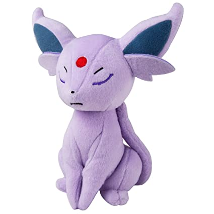 TOMY Pokemon Plush Figure Espeon 20 cm Peluches