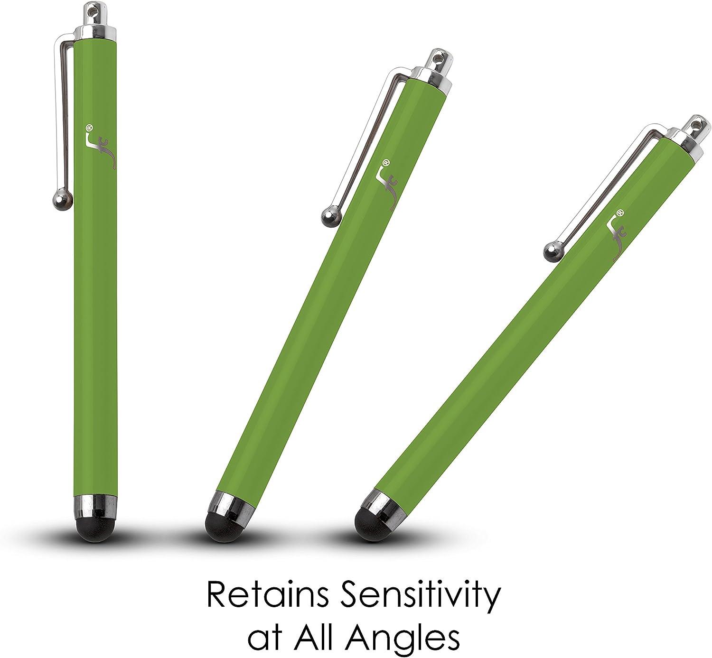Stylus Touch Pen Stylets FOREFRONT CASES Universel Capacitif Stylet pour Huawei Honor Pad 5 8 2019 Anti-Rayures /& Anti-Graisse Stylo iOS M/étallis/é /à Pointe de Caoutchouc Blanc