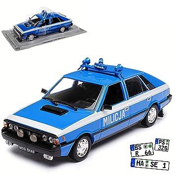 FSO Polonez 1500 MR 78 Milicja Polizei 1978-1986 1//43 Modellcarsonline Modell Auto mit individiuellem Wunschkennzeichen