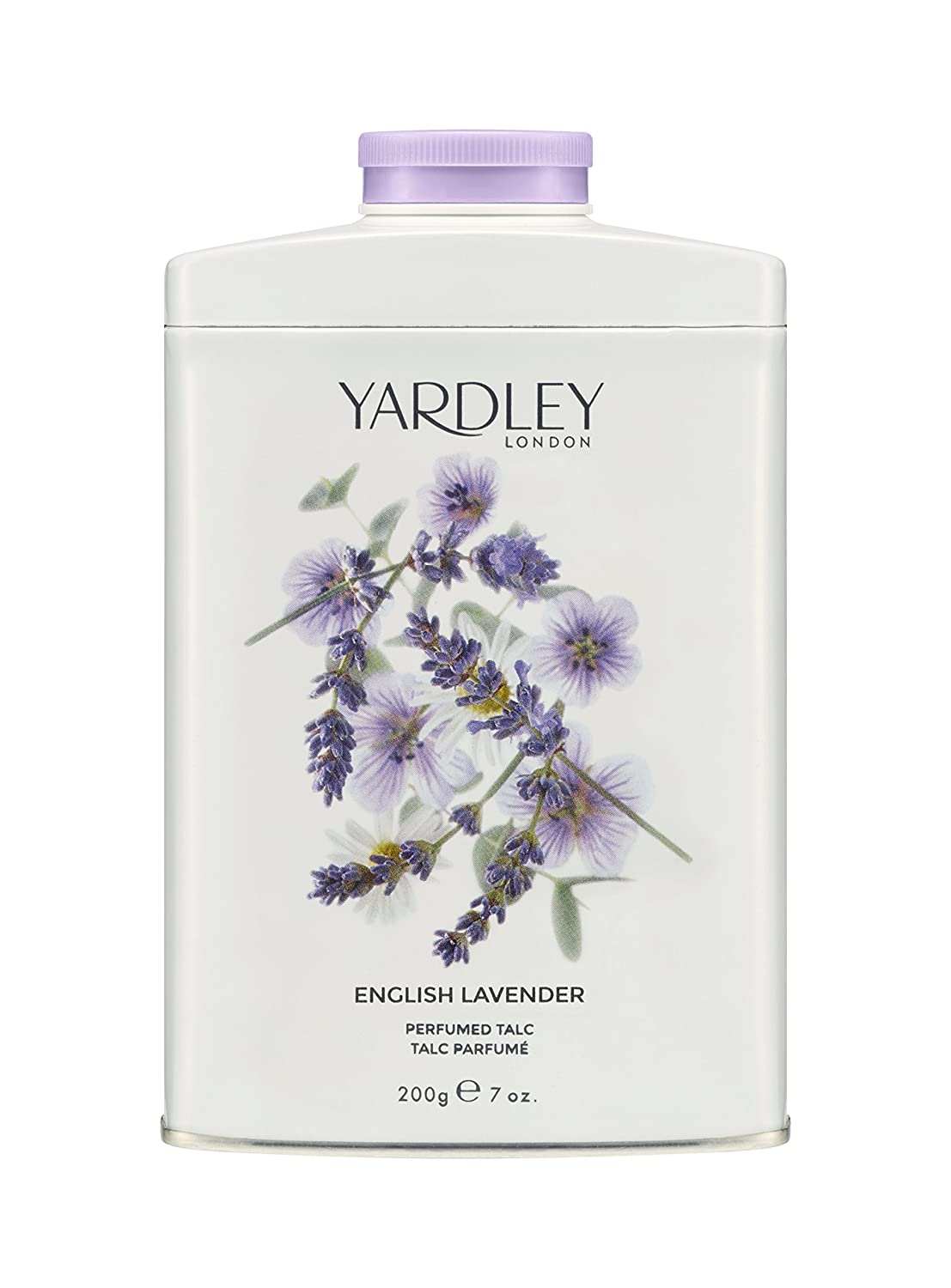 YARDLEY English Lavender Talco perfumado 200 g Yardley London 5060322952246