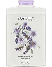 Yardley of London Perfumed Talc for Women English Lavender 7-Ounce