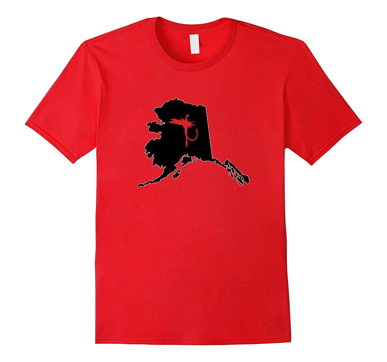 Alaska Fly FIshing State T-Shirt-TH