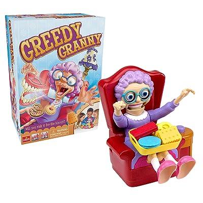 Goliath Greedy Granny - Take The Treats Don\'t Wake Granny Game: Toys & Games [5Bkhe1802935]