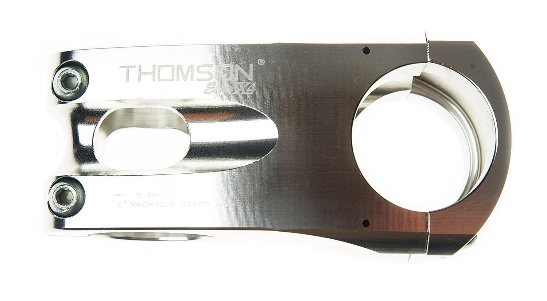 THOMSON(トムソン) ELITE X4 ステム 31.8mm SME132SL シルバー 90mm/0度 31.8mm B002KTRG4M