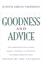 Goodness and Advice (The University Center for Human Values Series Book 31) Kindle Edition