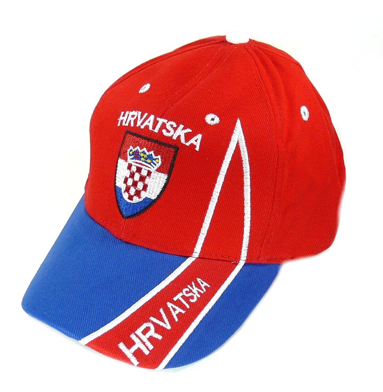 Fan Cap Kroatien Hrvatska rot NEU Kappe Flagge Basecap Fahnenwelt