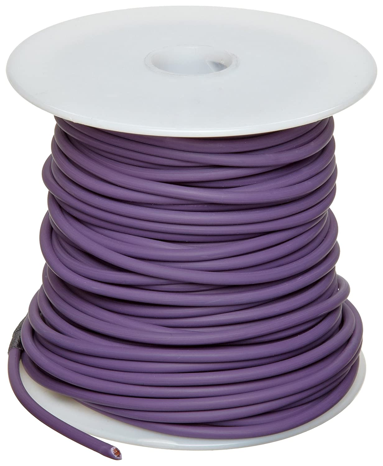 GXL Automotive Copper Wire Violet 0.0808 Diameter 100 Length Pack of 1 12 AWG