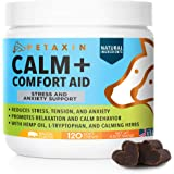 Petaxin Calming Treats for Dogs - Stress & Anxiety Relief for Dogs - Supports Calm & Relaxed Behavior - Chamomile…