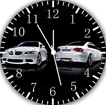 Bmw Horloge Murale 10 Sera Cadeau Decoration Mural X05 Et Amazon Fr