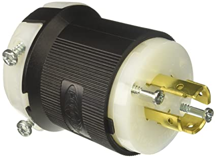 hubbell hbl2421 twist lock plug electronics cable connectors