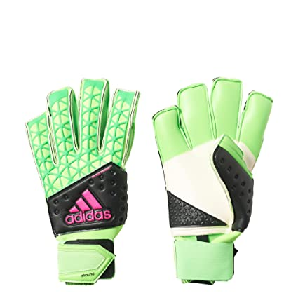 Amazon.com   adidas Ace Zones Allround Goalkeeper Gloves (Green ... 49842d21aec6