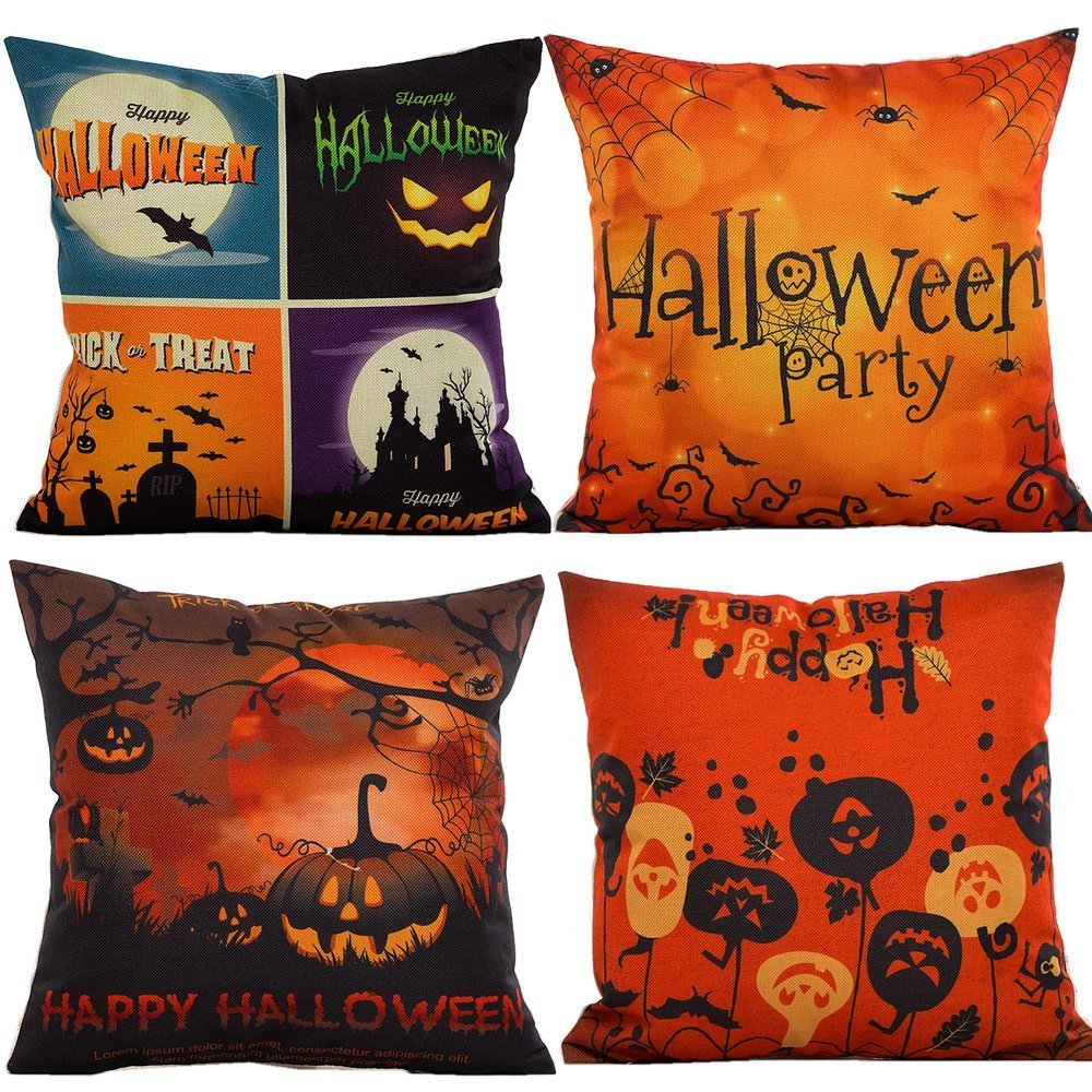 Halloween Pillow Covers ONLY $...