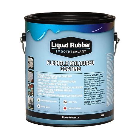 Liquid Rubber Smooth Sealant - 1 Quart Can White - - Amazon com
