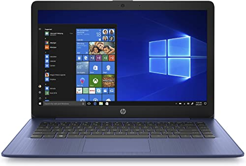 HP Stream 14inch HD(1366x768) Display, Intel Celeron N4000 Dual-Core Processor