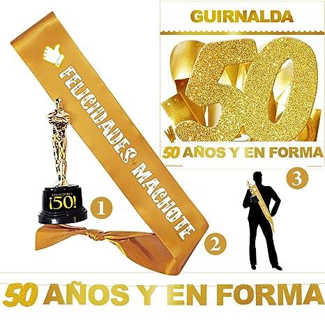 Inedit Festa - Fiesta 50 Años Cumpleaños - Guirnalda - Banda ...