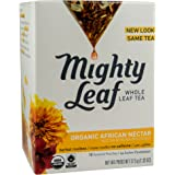 Mighty Leaf Herb Tea, Organic African Nectar, 15 Count Whole Leaf Pouch, 1.32 Ounce