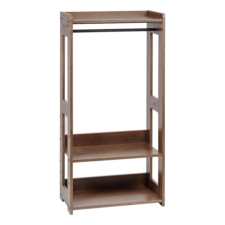 IRIS USA IRIS Compact Wood Garment Rack, Natural Inc. 596285