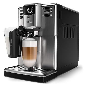 Philips Serie 5000 EP5335/10 Cafetera Súper, 6 Bebidas de Café, Jarra de