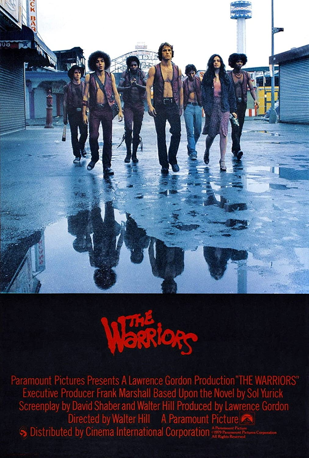 The Warriors Movie Poster (1979) 24x36